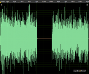 First part is the oh recorded from the Drumtraks. Last part is the data from the chip. As you can see, they are 'identical'.